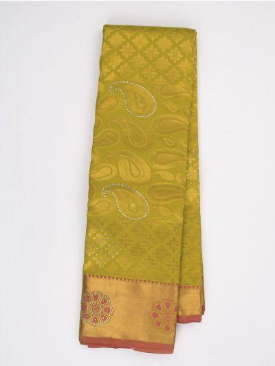 MED8348645-Traditional Stone work Silk Saree