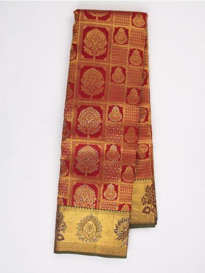 MHD2627903- Vipanji Traditonal Stonework Silk Saree