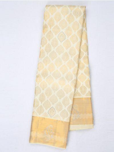 MHC1933624-Vivaha Stonework Wedding Silk Saree