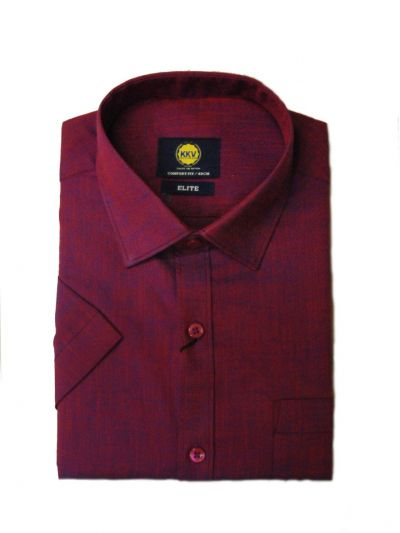 NEA1462666-KKV Men Formal Cotton Slub Shirt