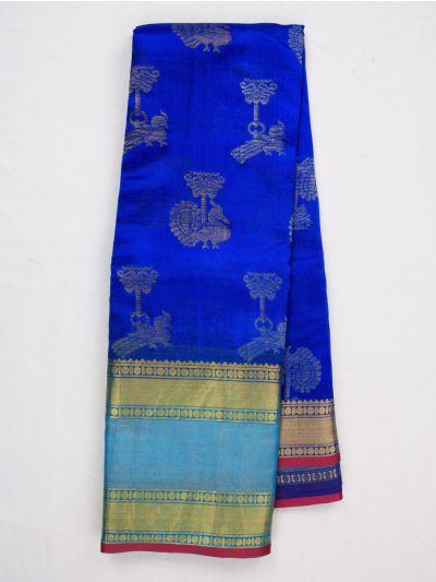 MID4843800-Sahithyam Dupion Tussar Silk Saree