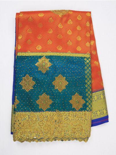 MIA2929852-Vivaha Wedding Stonework Silk Saree