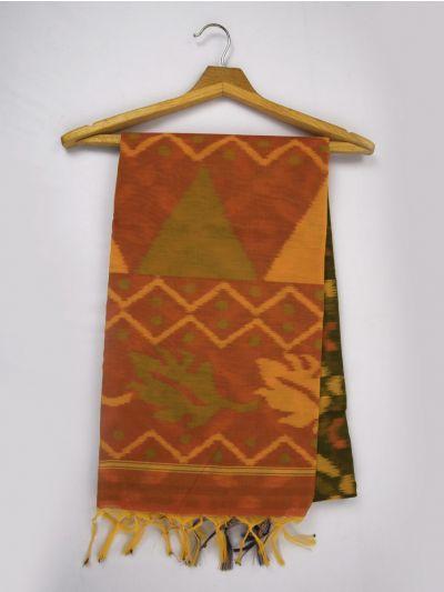 Chamelli Exclusive Pochampally Cotton Saree - MGB8561638