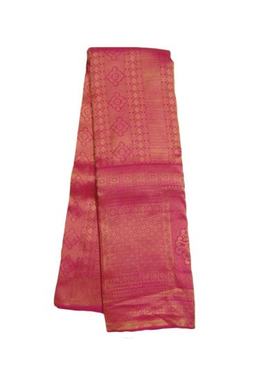 EKM-NHB4514669 - Vivaha Wedding Pink Silk Saree