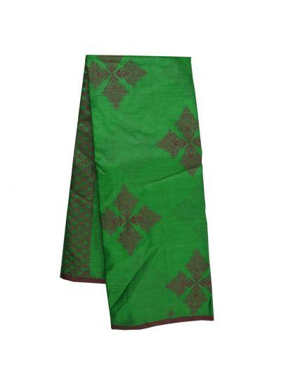 NFE6662546 - Fancy Tussar Weaving Silk Saree