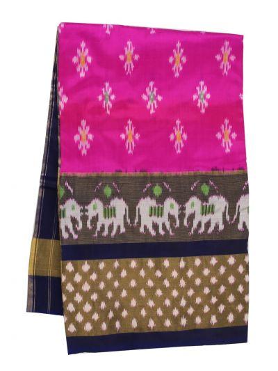 NED3253897 - Pochampally Handloom Pure Ikat Silk Saree