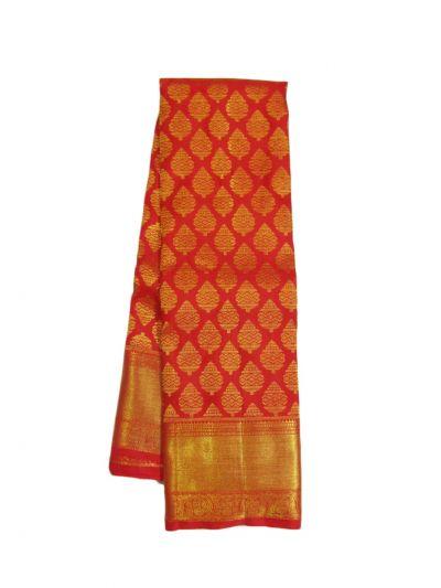 EKM - NIE8311136 - Vivaha Goddess Pure Kanchipuram Silk Saree