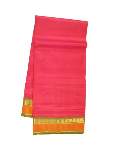 MKD0350178 - Handloom Pure Silk Nine Yards Saree