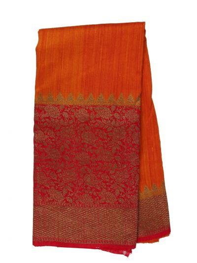 Antique Banarasi Silk Saree - NHB4602177
