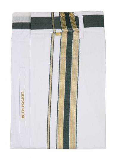 KKV Velcro Men Cotton Dhoti - NGD2813269