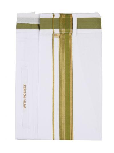 KKV Velcro Men Cotton Dhoti - NGD2813231