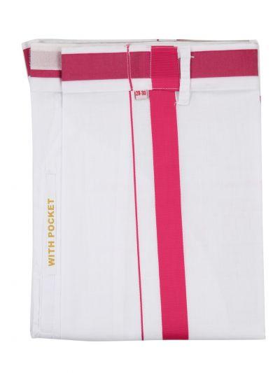 KKV Velcro Men Cotton Dhoti - NGD2813274