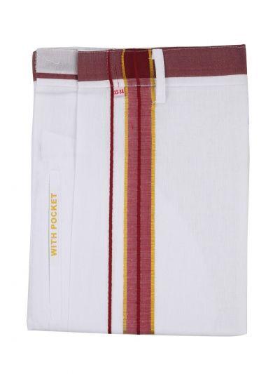 KKV Velcro Men Cotton Dhoti - NGD2813334
