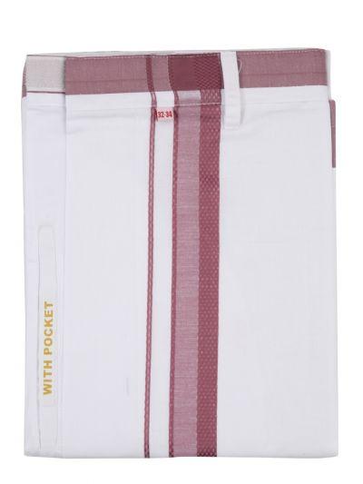 KKV Velcro Men Cotton Dhoti - NGD2813348