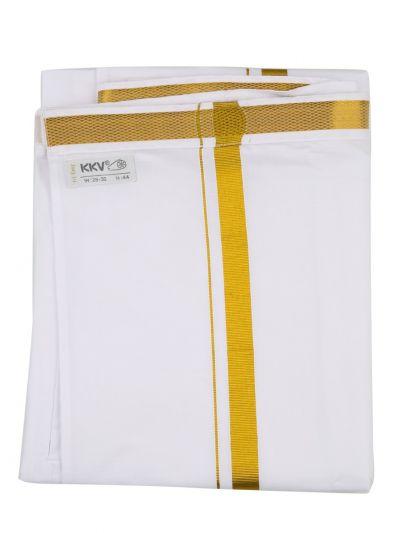 KKV Velcro Men Cotton Dhoti - NID7291668