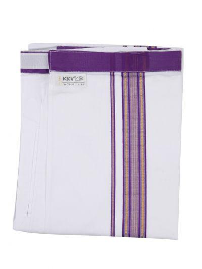 KKV Velcro Men Cotton Dhoti - NJA8913555