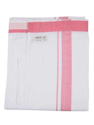 KKV Velcro Men Cotton Dhoti - NJA8913612