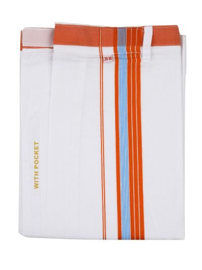 KKV Velcro Men Cotton Dhoti - NGD2813224
