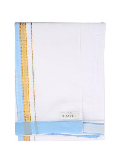 KKV Velcro Men Cotton Dhoti - NID7291761