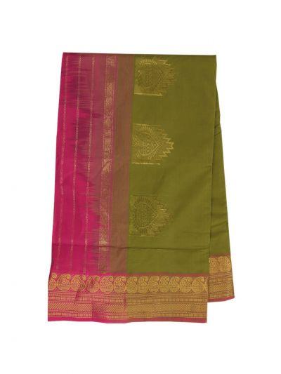 Poly Cotton Saree - NKA2173815
