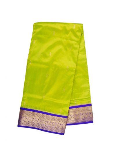 Handloom Pure Silk Nine Yards Saree - OAB1206031