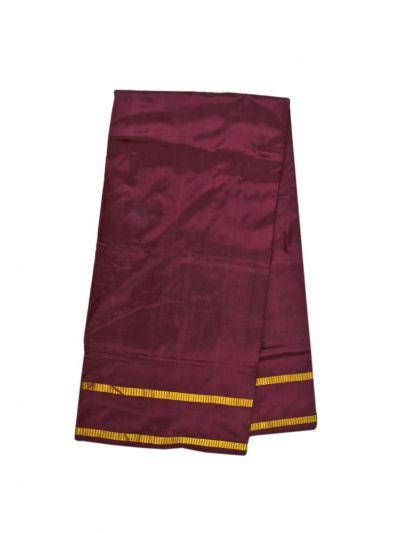 Handloom Pure Silk Nine Yards Saree - OAB1275284