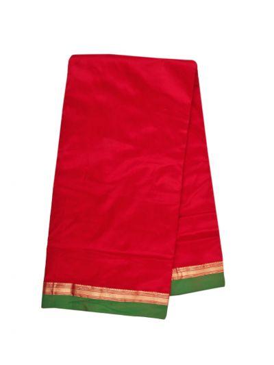 Handloom Nine Yards Silk Saree - OEA4108009