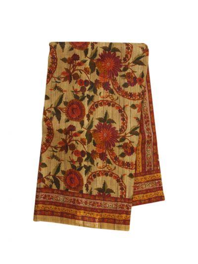 Fancy Pure Tussar Silk Printed Saree - NLD6139403