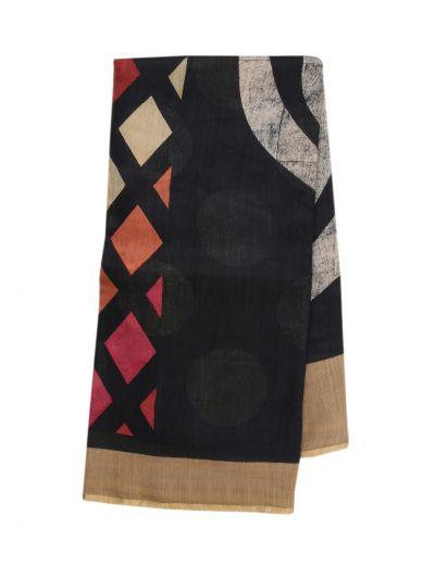 Fancy Pure Tussar Silk Printed Saree - OAA0224362