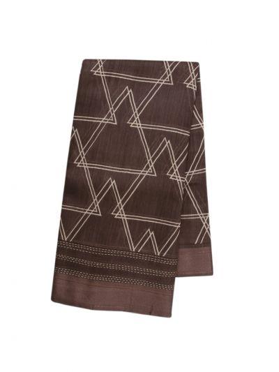 Fancy Pure Tussar Silk Printed Saree - OAA0224367