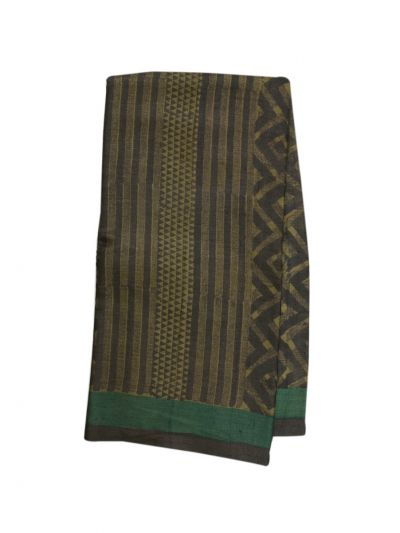 Fancy Pure Tussar Silk Printed Saree - MID6130840