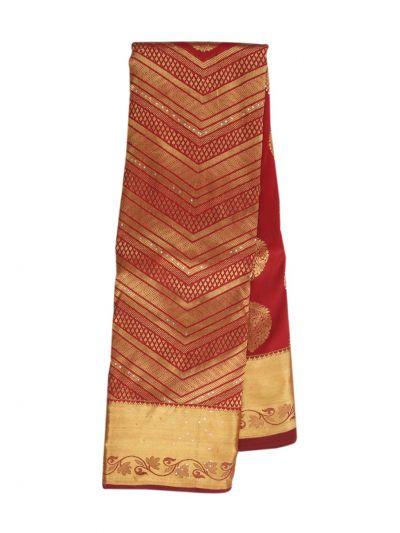 Traditional Silk Stone Work Saree - NIC6599470