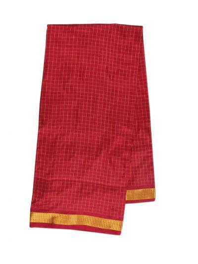 Handloom Pure Silk Nine Yards Saree - OAB1275302