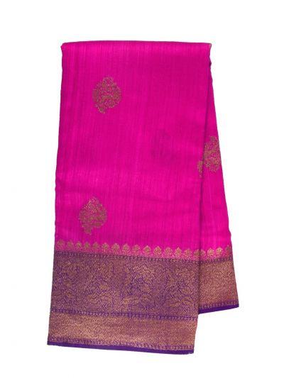 Banarasi Handloom Silk Saree - OAA0533814