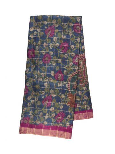 Fancy Pure Tussar Silk Printed Saree - OFA7358887