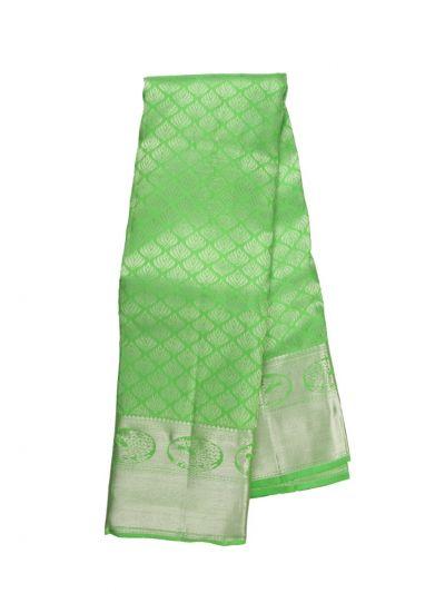 Vivaha Green Wedding Pure Kanchipuram Silk Saree - OFC9093352