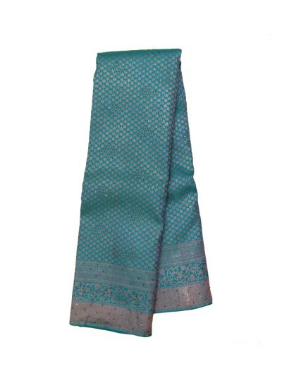 Vivaha Wedding Pure Kanchipuram Stone Work Silk Saree - EKM - OEC6311645