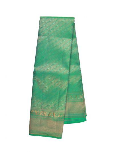 Vivaha  Green Wedding Silk Saree - OFB8731855