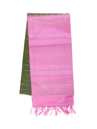 Fancy Tussar Silk Weaving Saree - OEA4544056