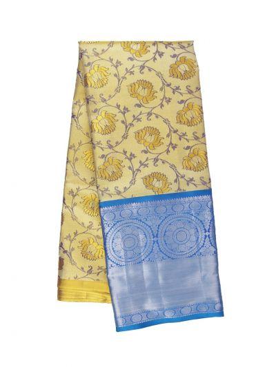 Silk Pavadai Dhavani Material Set - OFA7258466