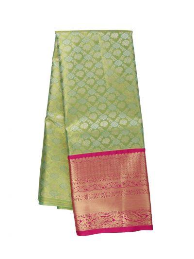 Silk Pavadai Dhavani Material Set - OFA7900145