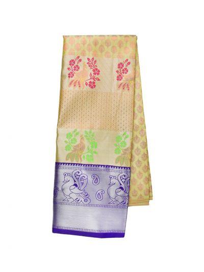 Silk Pavadai Dhavani Material Set - OFA7900151