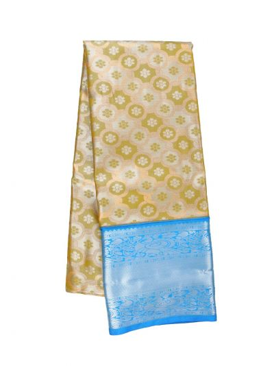 Silk Pavadai Dhavani Material Set - OFA7900171