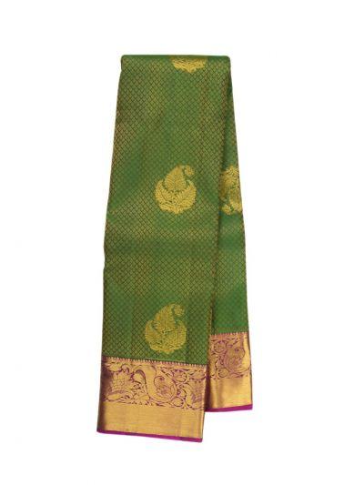 Vivaha Green Wedding Silk Saree - OFC9093353