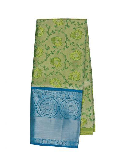 Silk Pavadai Dhavani Material Set - OFB8003906