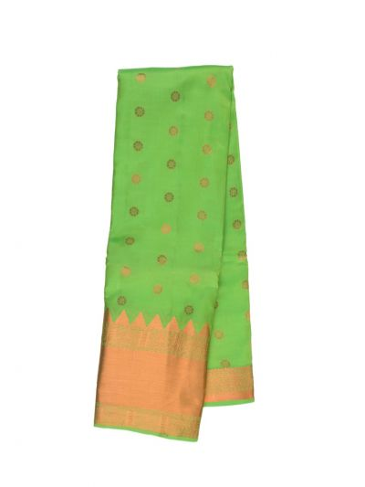 Traditional Green Silk Saree - ODD3422402