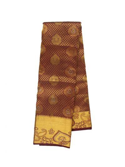 Vivaha Wedding Stone Work Silk Saree - ODD3997295