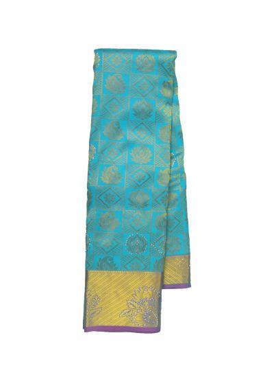 Vivaha Wedding Stone Work Silk Saree - OEC5964875