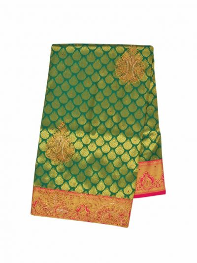 Traditional Stone Work Silk Saree - OFB7961071