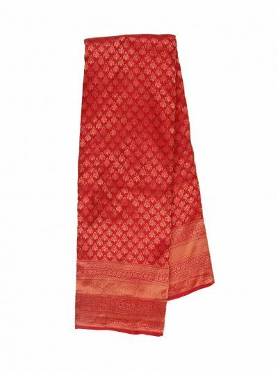 Vivaha Wedding Jari Butta Red Silk Saree - OFB8540129